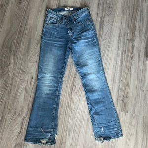 Madewell Cali Demi-Boot Jeans in Bess Wash